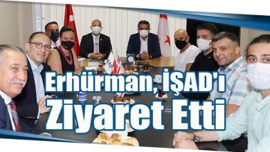 Photo of Erhürman, İŞAD'ı Ziyaret Etti