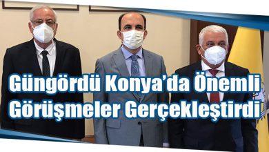 Photo of Güngördü Konya'da Önemli Görüşmeler Gerçekleştirdi