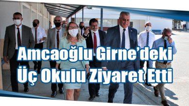 Photo of Amcaoğlu Girne'deki Üç Okulu Ziyaret Etti