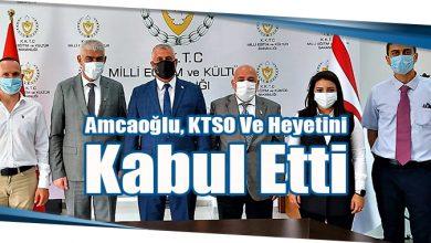 Photo of Amcaoğlu, KTSO Ve Heyetini Kabul Etti