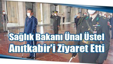 Photo of Ünal Üstel Anıtkabir'i Ziyaret Etti