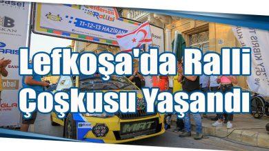 Photo of Lefkoşa'da Ralli Çoşkusu Yaşandı