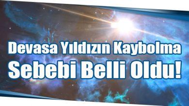 Photo of Devasa Yıldızın Kaybolma Sebebi Belli Oldu!