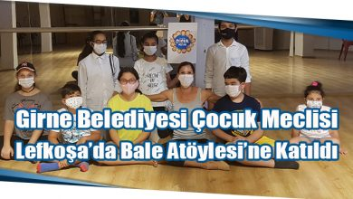 Photo of Girne Belediyesi Çocuk Meclisi Lefkoşa'da Bale Atöylesi'ne Katıldı