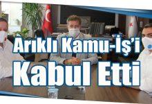 Photo of Arıklı Kamu-İş'i Kabul Etti
