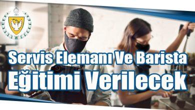 Photo of Servis Elemanı Ve Barista Eğitimi Verilecek