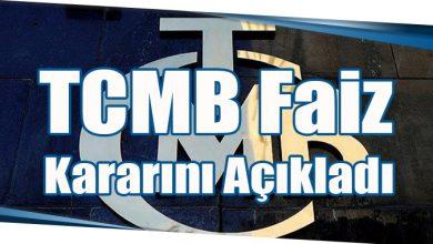 Photo of TCMB Faiz Kararını Açıkladı