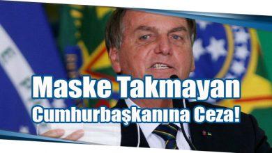 Photo of Maske Takmayan Cumhurbaşkanına Ceza!