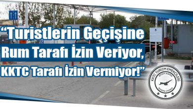 """Photo of """"Turistlerin Geçişine Rum Tarafı İzin Veriyor, KKTC Tarafı İzin Vermiyor!"""""""
