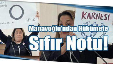 Photo of Manavoğlu'ndan Hükümete Sıfır Notu!